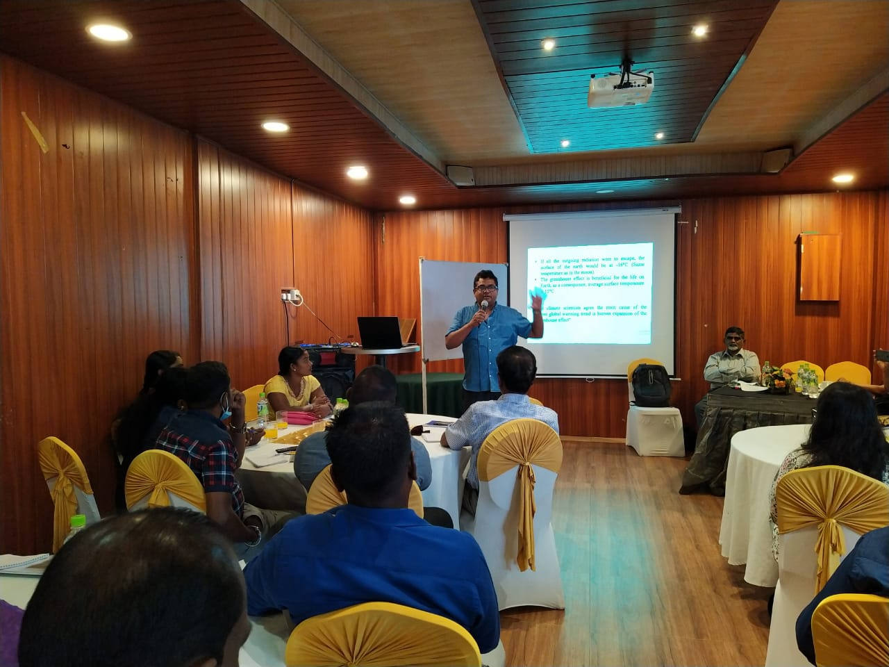 Residential workshop on Climate Change Adaptation and Identification of community Based Adaptation Strategies for Northern Province Landscape